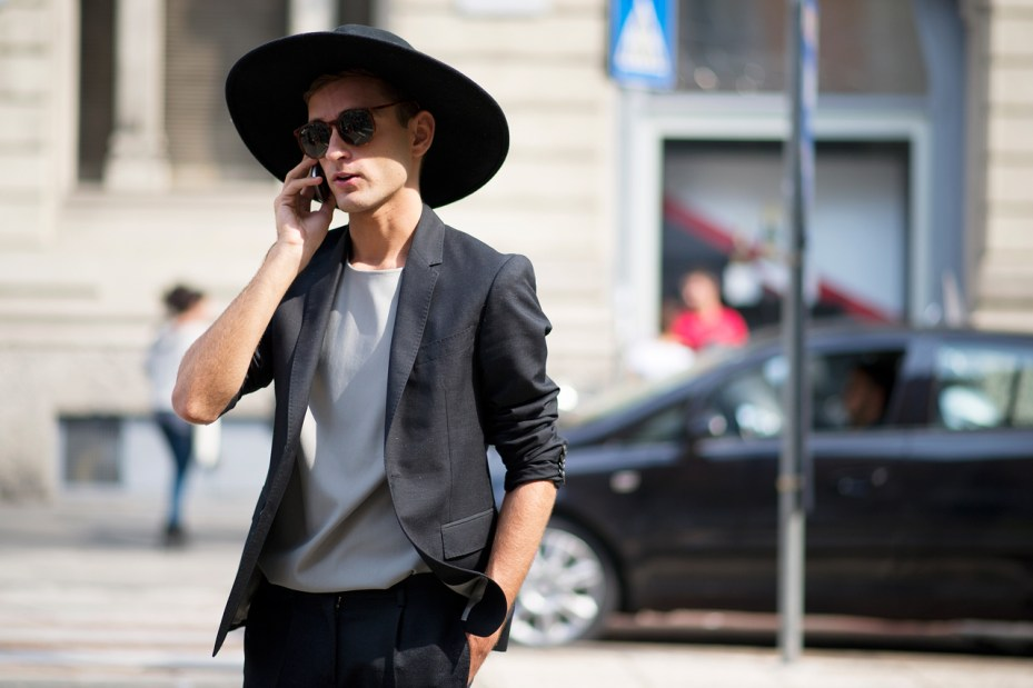 Image of Streetsnaps: Milan Fashion Week 2013 Spring/Summer Part 1