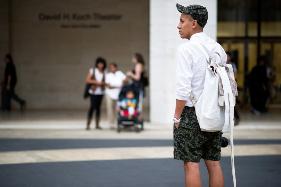 Image of Streetsnaps: New York Fashion Week 2013 Spring/Summer Part 1