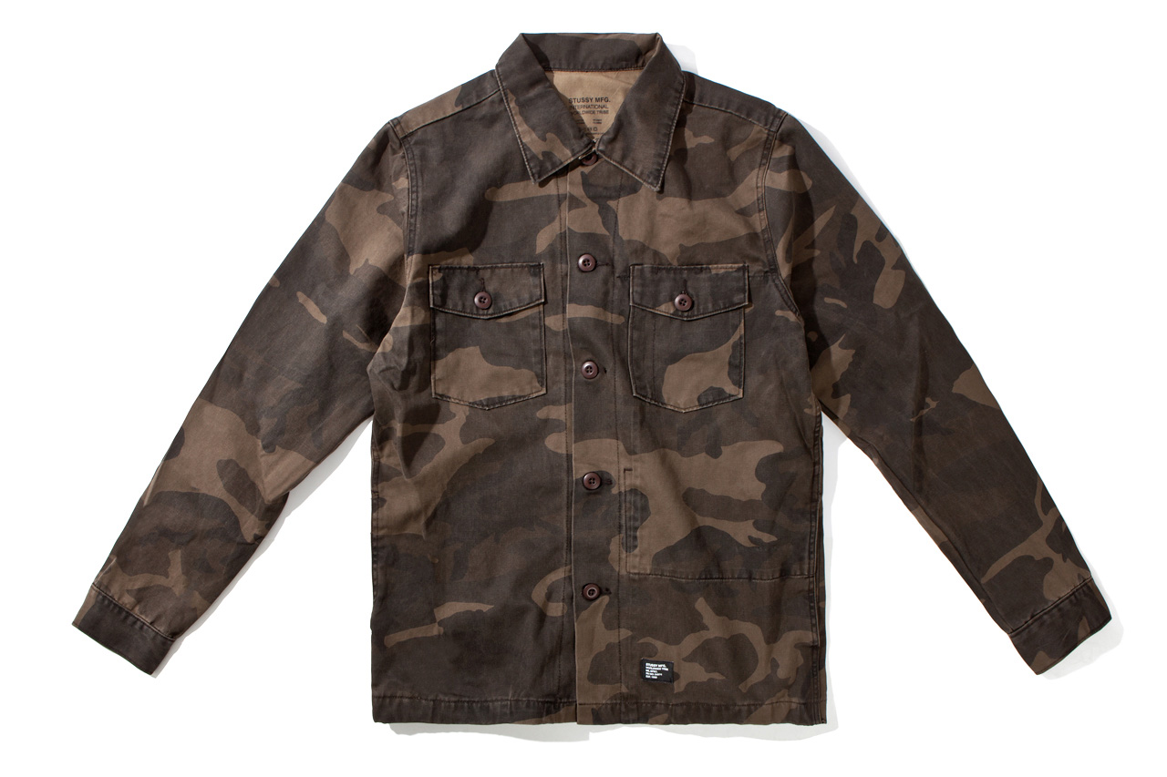 Image of Stussy 2012 Fall/Winter MFG Troops Shirt