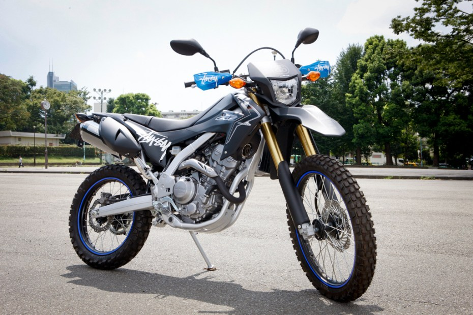 Image of Stussy x Honda CRF250L