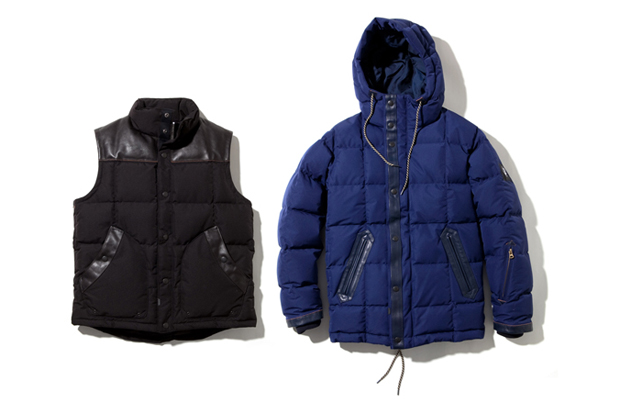 Image of Stussy x NEXUSVII Down Vest and Jacket