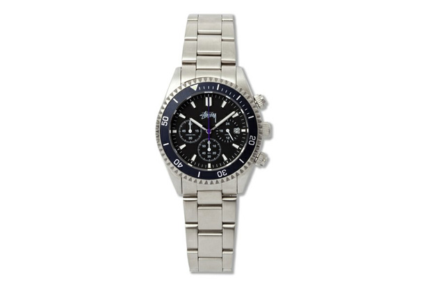 """Image of Stussy ZOZO CHAPT 5th Anniversary Chronometer """"CREWSADER"""" Watch"""