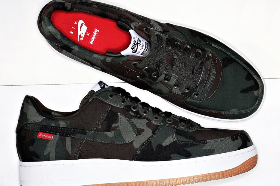 Image of Supreme x Nike Air Force 1 2012
