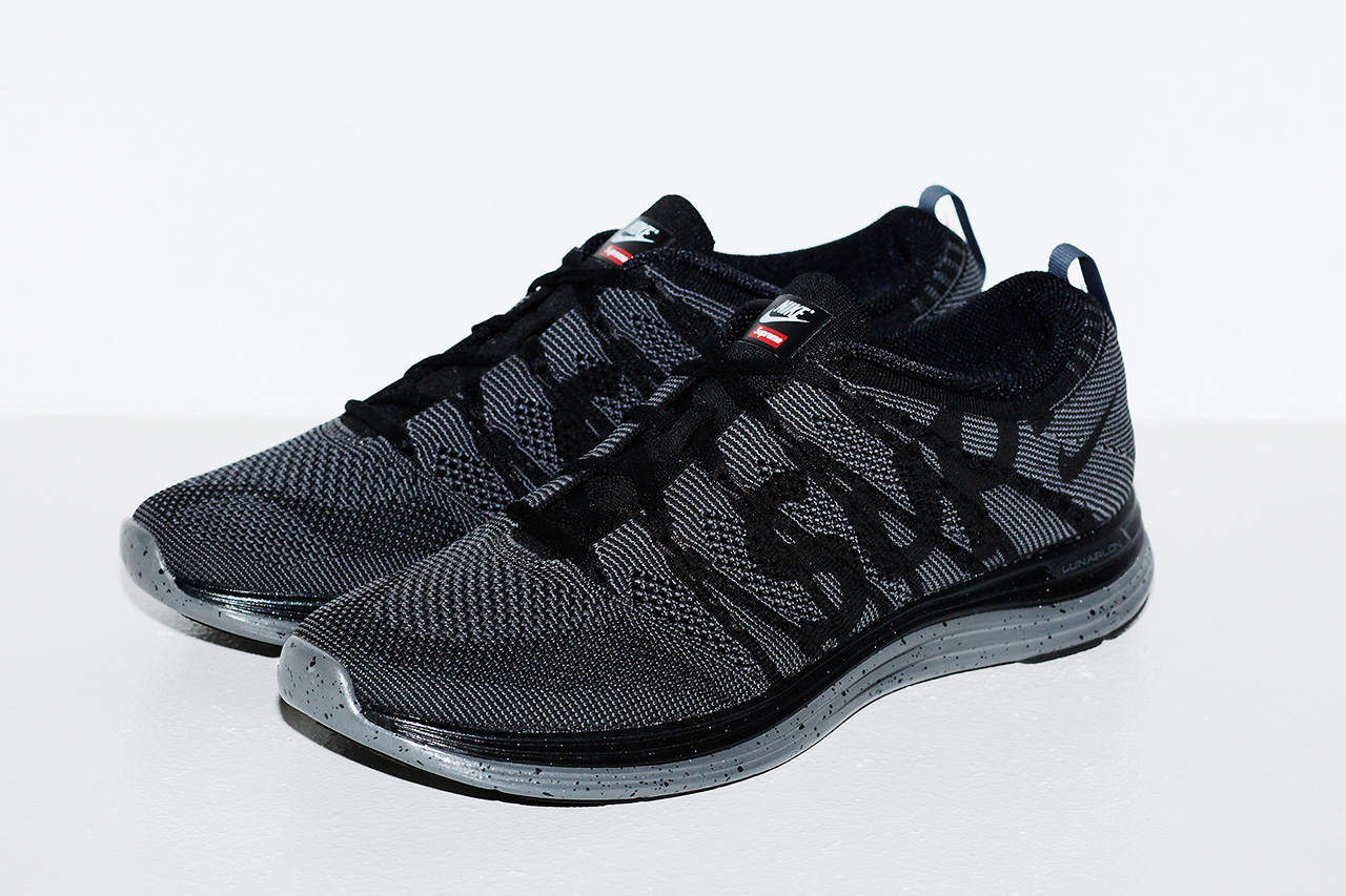Image of Supreme x Nike Flyknit Lunar 1+