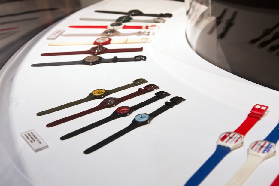 "Image of Swatch ""The Blum Collection"" Exhibition @ Park Avenue Armory"