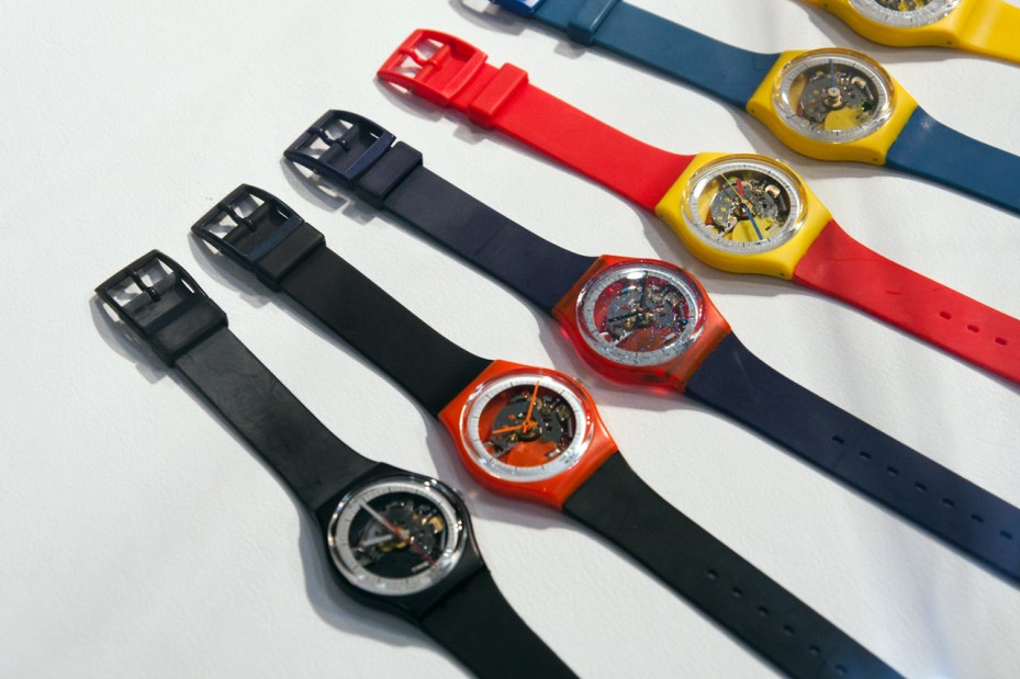 """Image of Swatch """"The Blum Collection"""" Exhibition @ Park Avenue Armory"""
