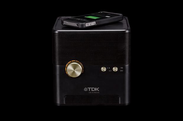 Image of TDK Wireless Charging Speaker