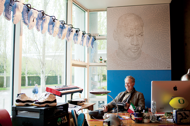 Image of The Man Behind Air Jordan: Tinker Hatfield Talks Inspiration