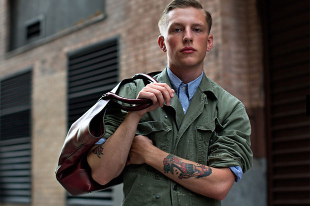 Image of The Sartorialist for Coach Editorial Photographs