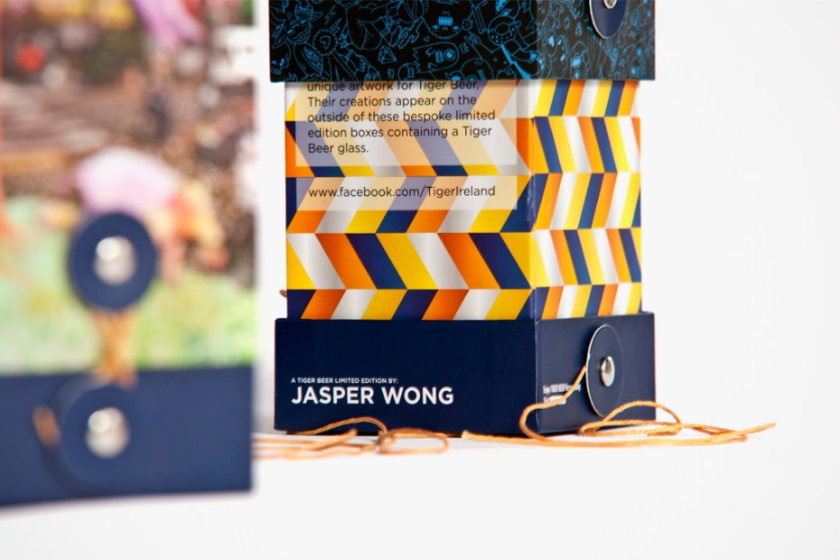 Image of Tiger Beer Artist Series featuring Jasper Wong, Will Barras, Kozyndan and Gisele Scanlon
