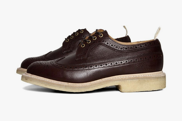 Image of Tricker's for End Hunting Co. Zug Grain Long Wing Brogue