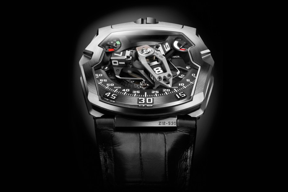 "Image of Urwerk UR-210 ""Maltese Falcon"""