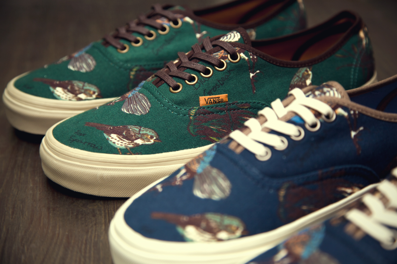 "Image of Vans California 2012 Fall/Winter ""Birds"" Authentic CA Pack"