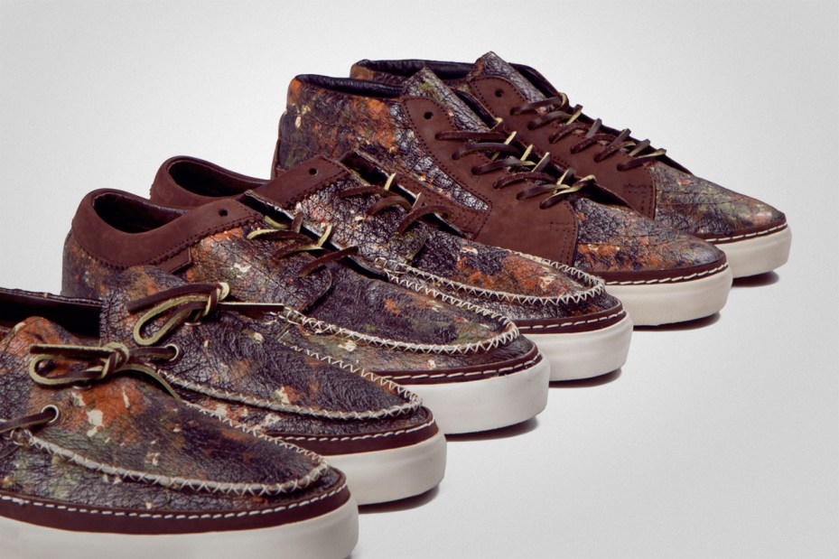Image of Vans Vault 2012 &quot;Brushed Camo&quot; Pack