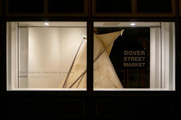 Image of visvim Teepee Installation @ Dover Street Market