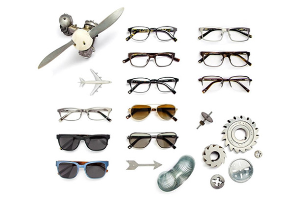 Image of Warby Parker Titanium Collection