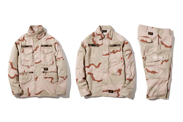 Image of WTAPS 2012 Fall/Winter Desert Camo Capsule Collection