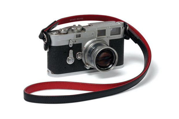 Image of WTAPS x Artisan &amp; Artist* Leather Camera Strap