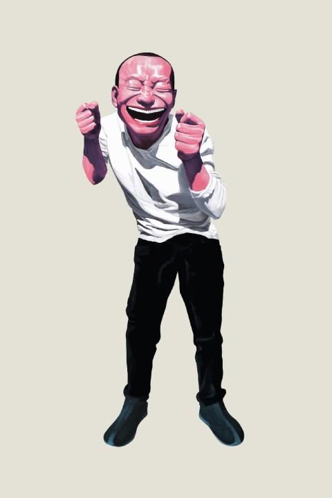 "Image of Yue Min Jun ""The Tao of Laughter"" @ Ocean Terminal, Harbour City"