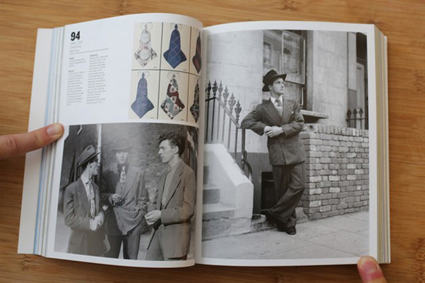 Image of 100 Years of Menswear Book by Cally Blackman