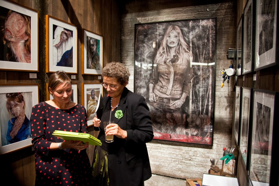 Image of 2012 Moniker Art Fair @ Village Underground London