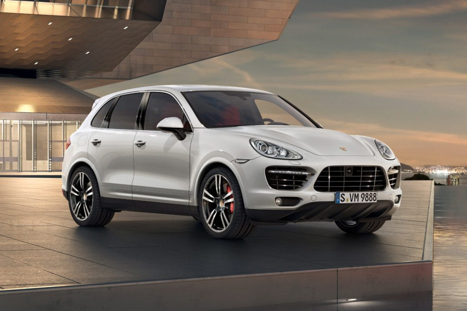 Image of 2013 Porsche Cayenne Turbo S