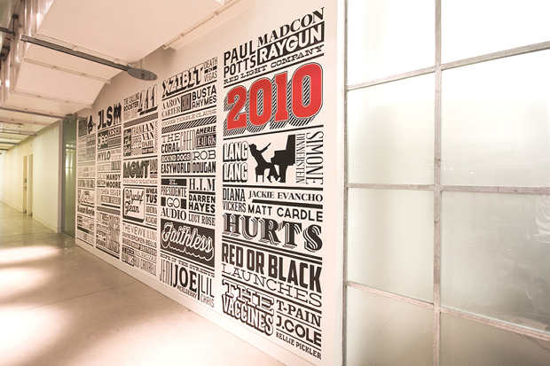 Image of A 125-Year Timeline of Sony Music by Alex Fowkes