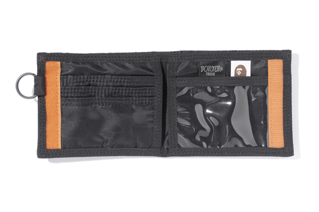 Image of A Bathing Ape x Porter Jacquard ABC Wallet
