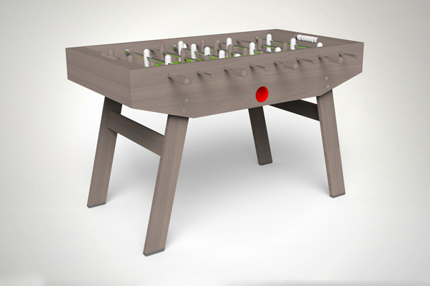 Image of A Beautifully Designed Foosball Table by CB2 and Scot Herbst