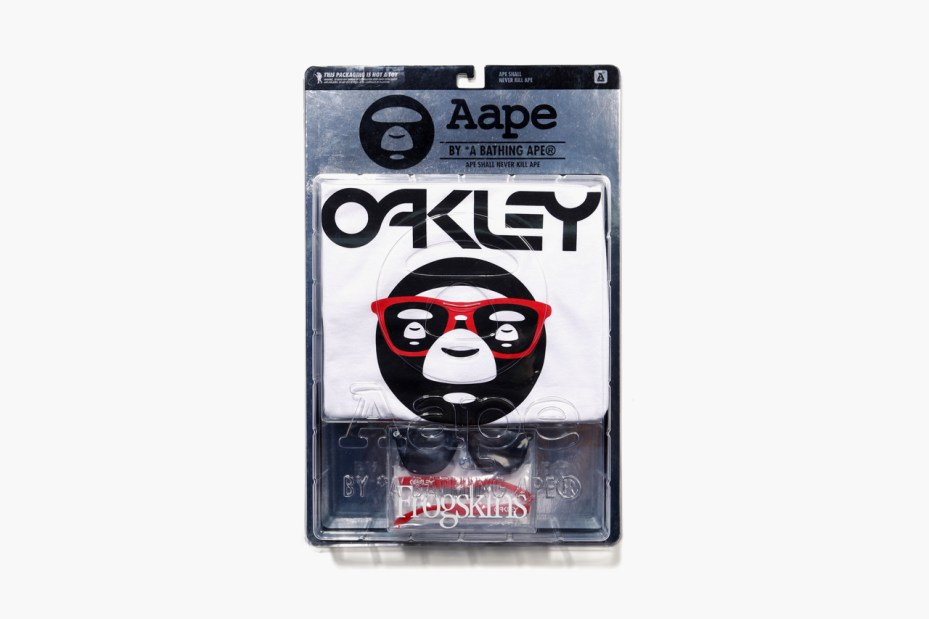 Image of AAPE by A Bathing Ape x Oakley 2012 Fall Capsule Collection