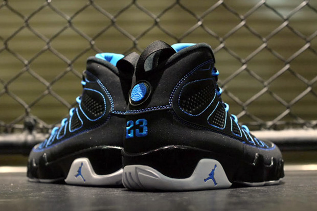 "Image of Air Jordan 9 ""Photo Blue"" Retro"
