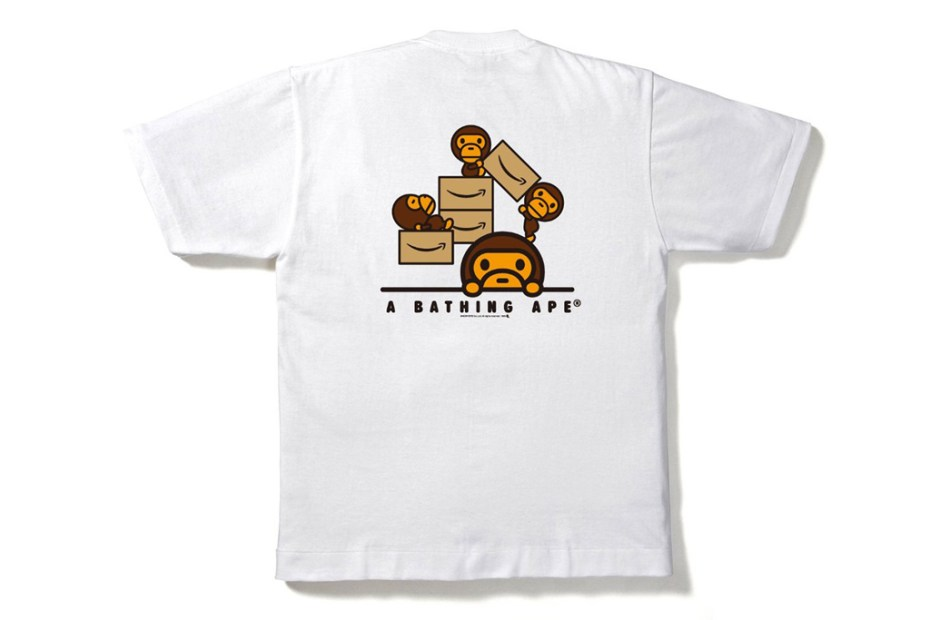 "Image of Amazon x A Bathing Ape 2012 ""Amazon.co.jp"" T-Shirt"