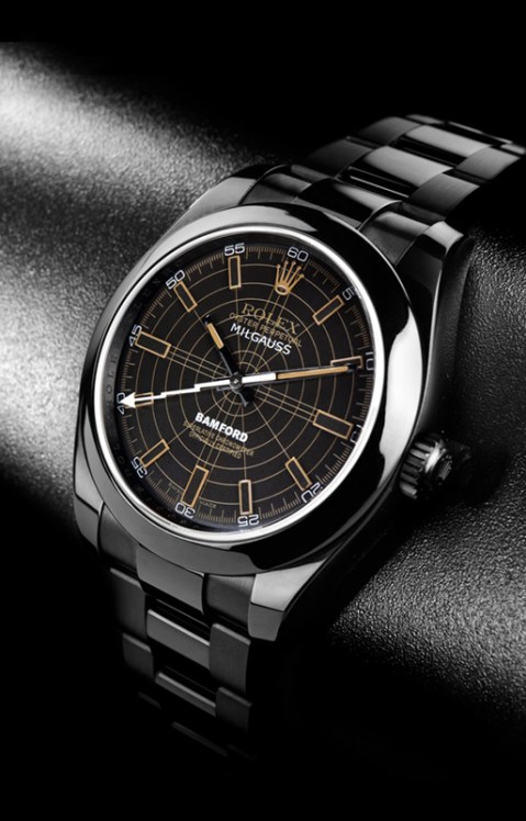"Image of Bamford Watch Department Rolex ""Polaris"" and ""Sonar"" Milgauss"