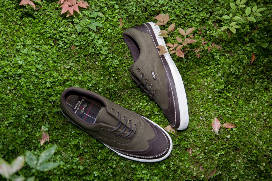 Image of Barbour x Vans California Footwear Capsule Collection