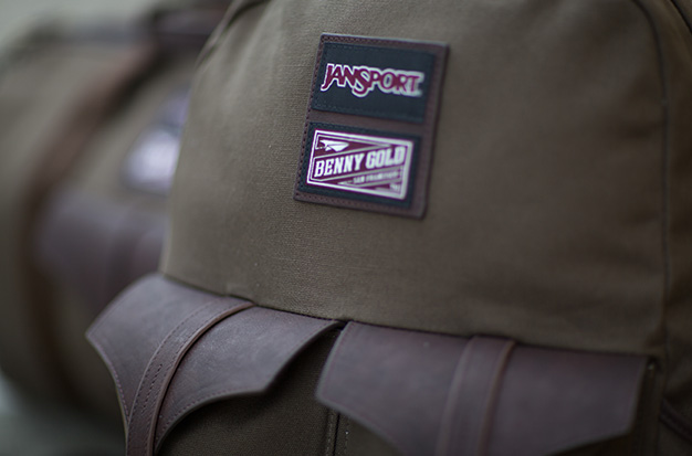 Image of Benny Gold x JanSport 2012 Winter Lookbook