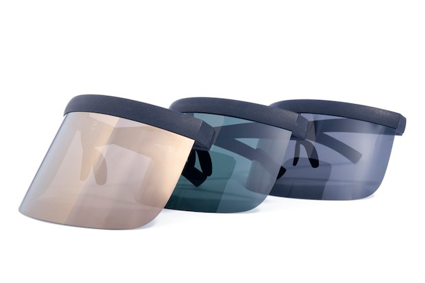 Image of Bernhard Willhelm x Mykita 2013 Spring/Summer Daisuké Visor Sunglasses