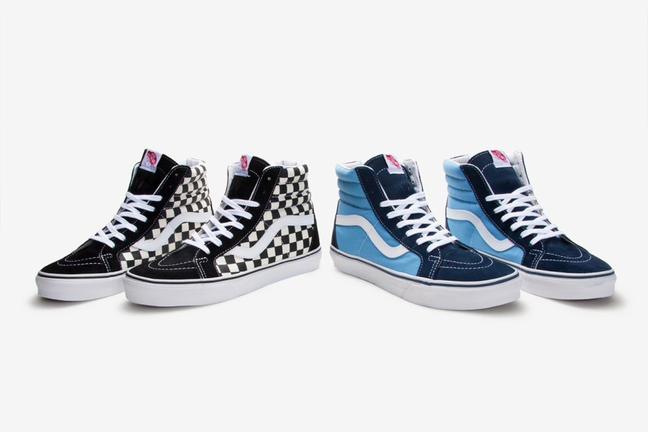 Image of Bones Brigade x Vans 2012 Fall Sk8-Hi Re-Issue Pack