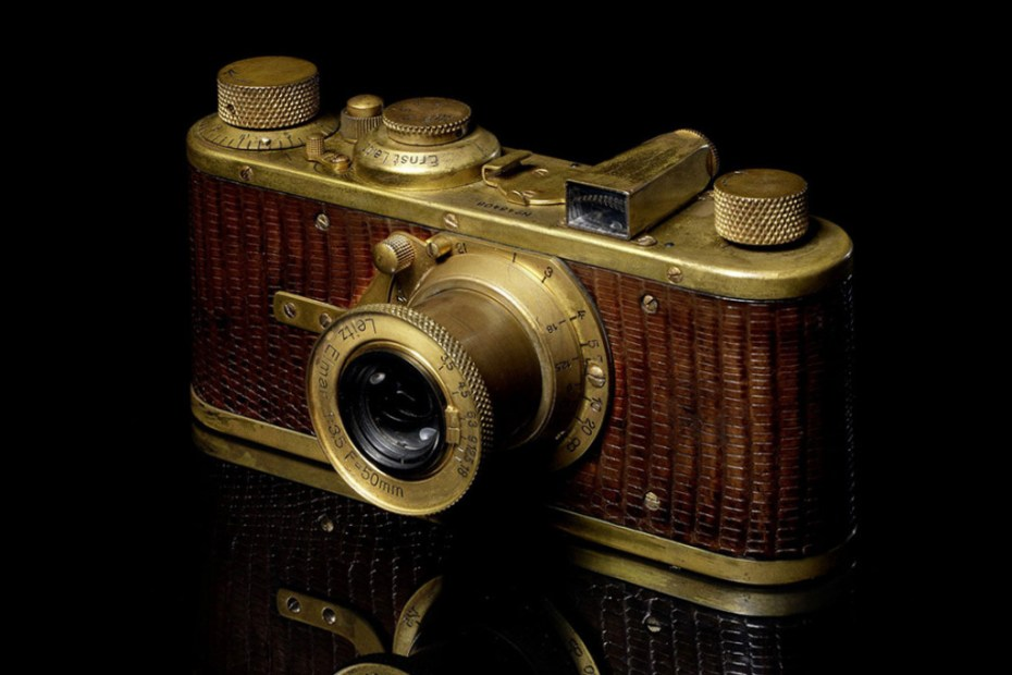 Image of Bonhams to Hold Auction in Hong Kong for Rare Leica Cameras