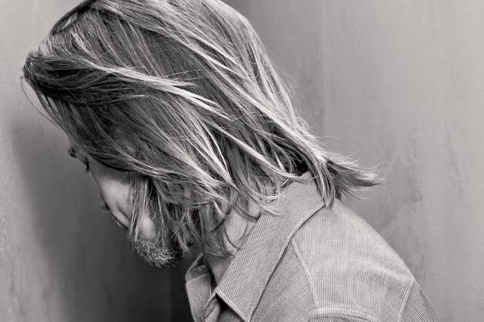 Image of Brad Pitt Interrogates a Chanel No.5 Bottle