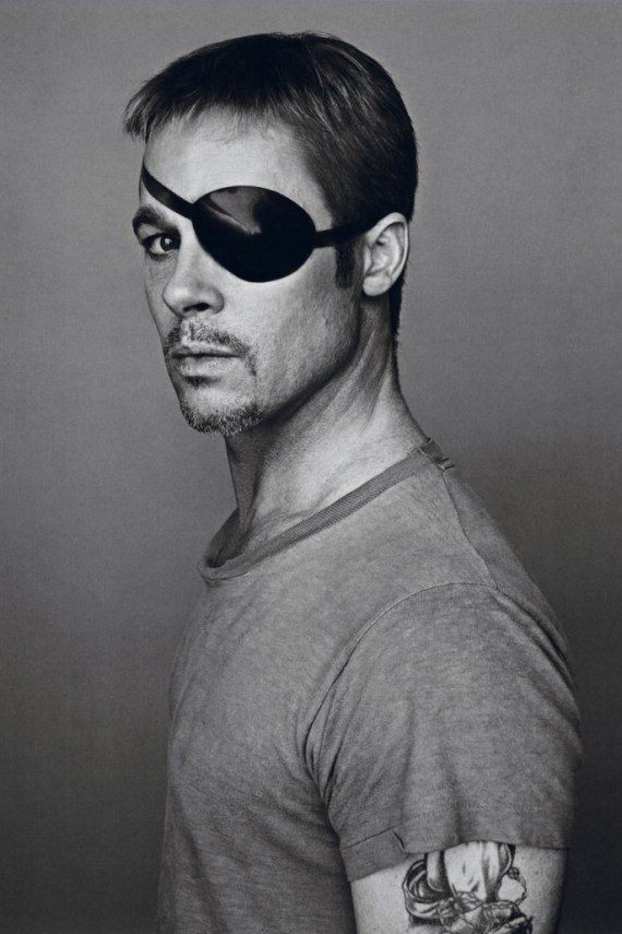 Image of Brad Pitt Shows Multiple Personalities for Interview Magazine&#039;s October/November 2012 Issue