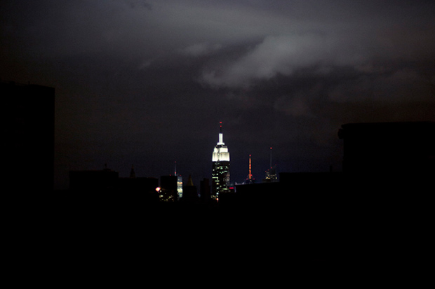 "Image of Brian Kelley ""Into the Darkness"" Photos from Hurricane Sandy"