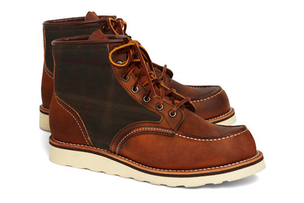 Image of Brooks Brothers x Red Wing 4553 Tartan Panel Boot