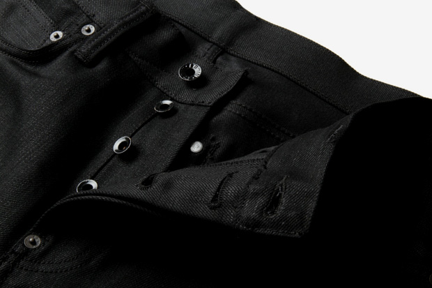 Image of Burg & Schild x Edwin 14oz Black Selvedge Kaihara Denim