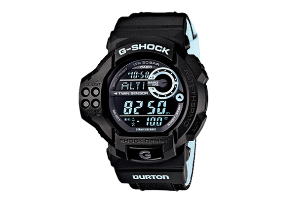 Image of Burton x Casio G-Shock GDF-100BTN-1JR Watch
