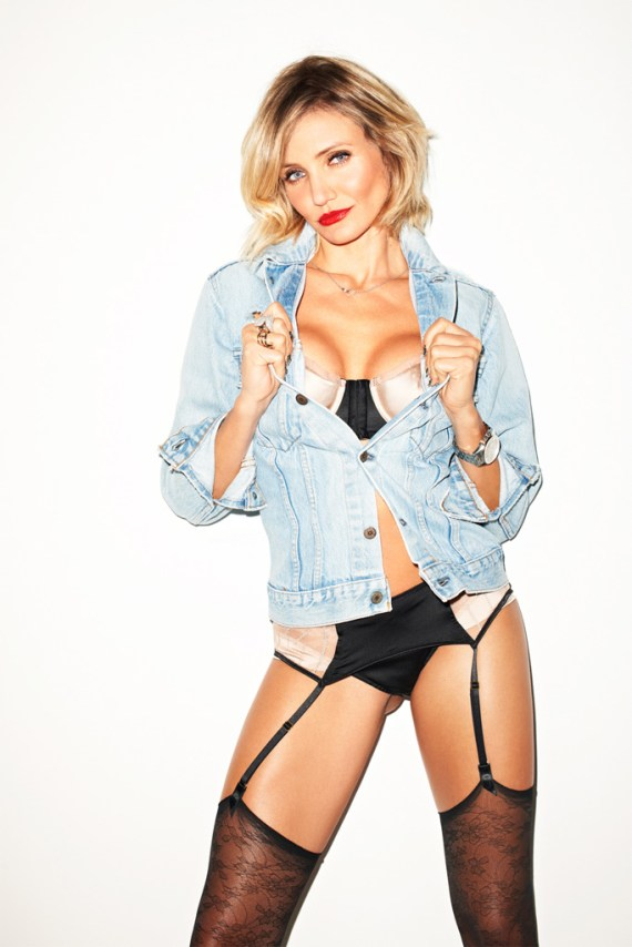 Image of Cameron Diaz by Terry Richardson for Esquire
