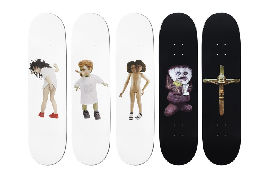 Image of Chapman Brothers for Supreme Skate Decks
