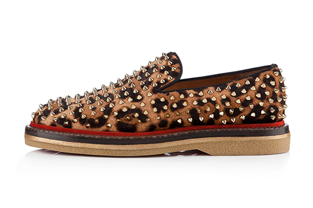 Image of Christian Louboutin 2012 Fall/Winter Fredapoiters Printed Pony Hair Loafer