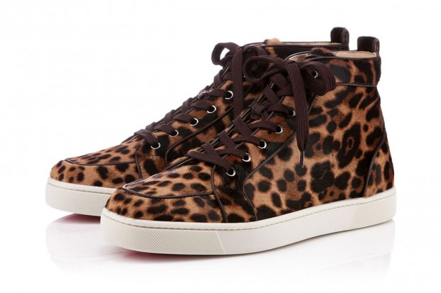 Image of Christian Louboutin 2012 Fall/Winter Leopard Rantus Orlato Flat