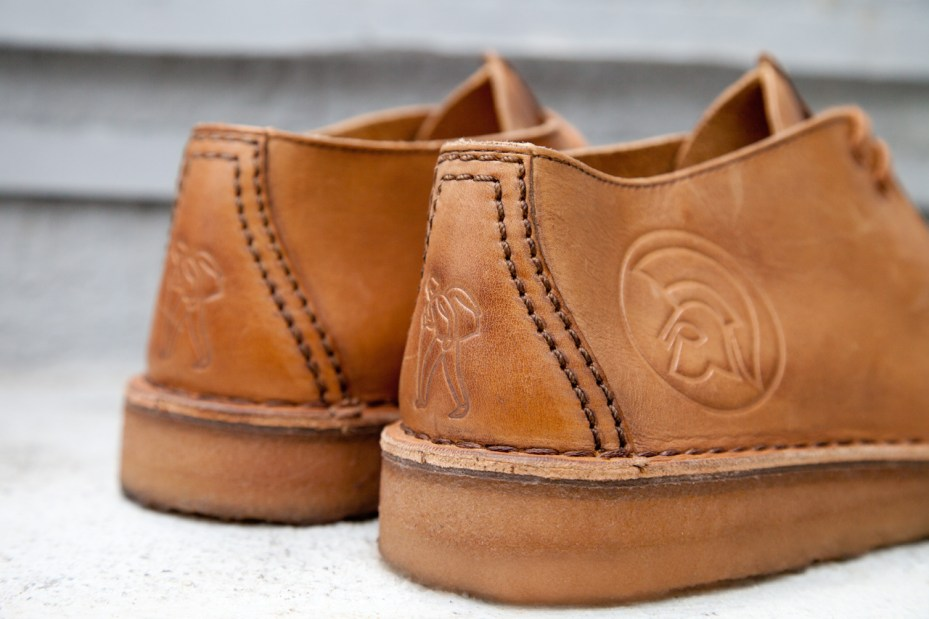 Image of Trojan Records x Clarks Originals 2012 Fall/Winter 40th Anniversary Desert Trek - A Closer Look