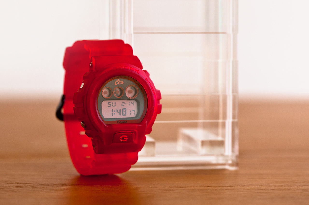 Image of CLOT x Casio G-Shock 2012 Fall/Winter DW-6900 Special Edition
